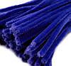 Плюшевая проволока Синяя
