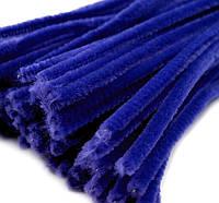 Плюшевая проволока Синяя, фото 1