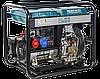 Дизельный генератор Könner & Söhnen KS 9100HDE-1/3 ATSR (Euro V) 7 кВт, фото 4