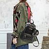 Рюкзак жіночий з брелоком середній, фото 5