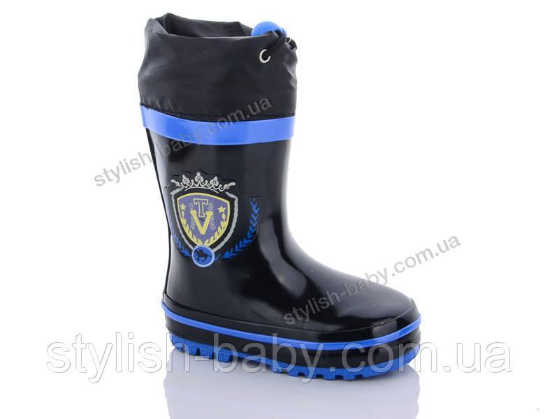 Обувь для непогоды оптом в Одессе. Детские резиновые сапоги бренда Paliament для мальчиков (рр. с 21 по 28)