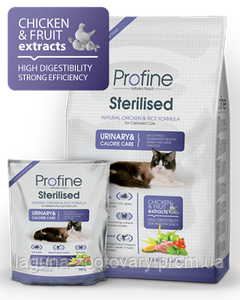 Профайн Стерилизед, сухой корм для кошек 2кг/ суперпремиум