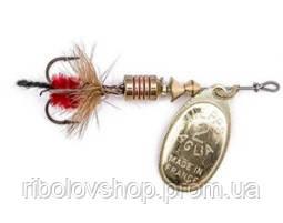 Mepps AGLIA MOUCHE złota/RED fly 1/3,6g