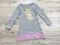 Теплое ангоровое платье для девочек. ( Полномерные). 134- 152 рост.
