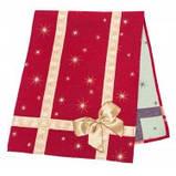 Скатертина новорічна гобеленова, Різдвяний букет, 137х180 см, Ексклюзивні подарунки, Новорічний текстиль, фото 2