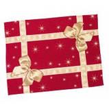 Скатертина новорічна гобеленова, Різдвяний букет, 137х180 см, Ексклюзивні подарунки, Новорічний текстиль, фото 3