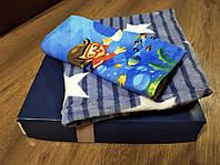 Плед детский + полотенце микрофибра 105х105 в подарочной коробке, фото 1