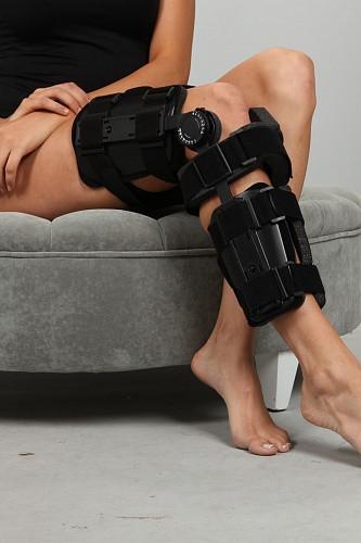 Ортез коленного сустава регулируемый усиленный Support line