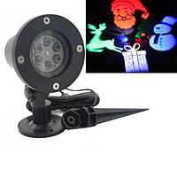 Лазерный проектор уличный влагозащищенный X-Laser WL-5024, фото 1