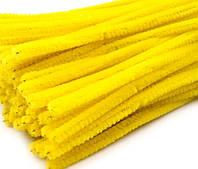 Плюшевая проволока Желтая