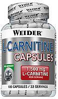 L-Carnitine 1000 Weider (Body Shaper) - 100 капс.