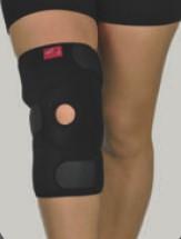 Наколенник неопреновый открытый для поддержки коленной чашечки_ Support line