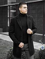 """Мужское зимнее пальто Pobedov Winter Coat """"BATYA"""" Black, фото 1"""
