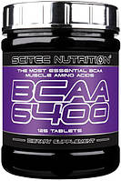 BCAA 6400 Scitec nutrition (125 таб.)