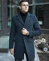 "Мужское зимнее пальто Pobedov Winter Coat ""BATYA"" Аnthracite, фото 1"