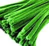 Плюшевая проволока Светло-зеленая