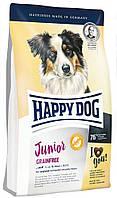 Корм беззерновой для юниоров средних и крупных пород собак Happy Dog Junior Grainfree Хэппи Дог