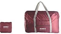 Складная водонепроницаемая легкая туристическая дорожная сумка для путешествий ReD Romix красная red wine 20 л