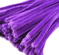 Плюшевая проволока Фиолетовая