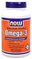 Omega-3 NOW (200 капс.)