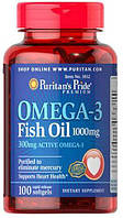 Puritan`s Pride Omega 3 Fish Oil (100 капс.)
