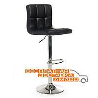Барный стул хокер В-40  (95,5-116)*51*44*(63-84,5) Vetro Черный
