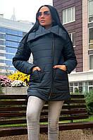 Куртка женская темно-синяя 492