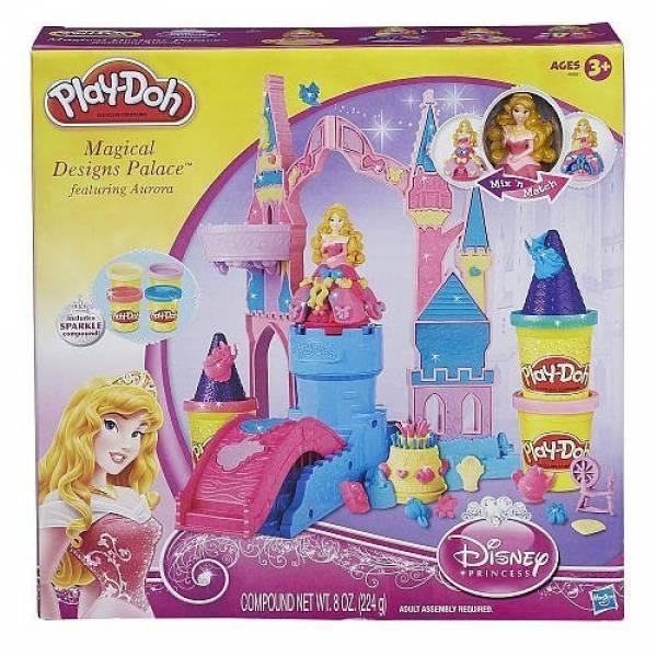 Play-Doh набор замок Авроры Palace Set Featuring Princess Aurora