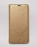 Чехол-книжка для смартфона Xiaomi Mi9T (Redmi K20) золотая MKA