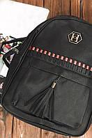 Рюкзак женский черный 34 х 26 х 12 см 8002