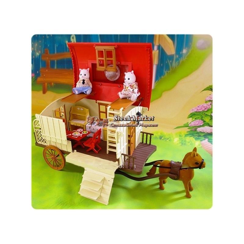 Животные флоксовые 012-05 Happy Family