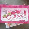 Кухня 008-58(А) (красная и розовая) с посудой, музыка, светится , фото 5