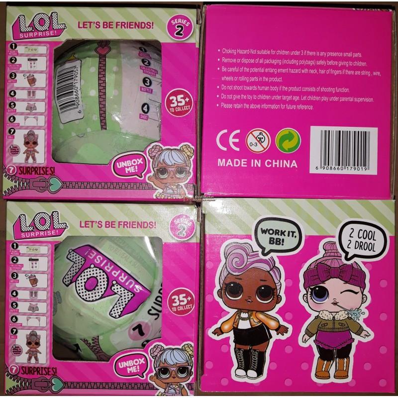 Кукла LOLOLOL JX 2й сезон 1шт 17901 в коробке