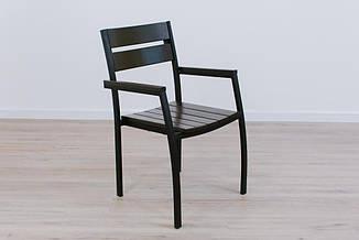 Стул Стелла с гнутой спинкой и гнутым сиденьем Венге