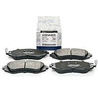 Колодки тормозные дисковые передние Daewoo Lanos, Leganza, Nexia, Nubira, Sens, Espero R14 Konner KPF-1002