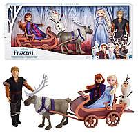Большой набор Холодное Сердце Приключение на санях Disney Frozen Sledding Adventures Doll Pack