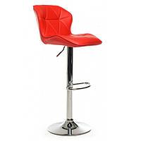 Барный стул хокер В-70 (87,5-108,5)*52,5*45*(64-85) Vetro Красный