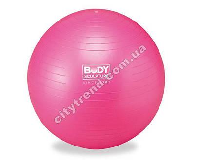 Фитбол (мяч для фитнеса) Solex гладкий 65 см с насосом