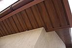 Карнизна підшивання Asko Neo колір коричневий з перфорацією і без, фото 6