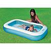 Детский надувной бассейн 57403 Intex на 102 литра размером 166х100х28 см, фото 2