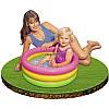 Детский надувной бассейн 57107 Intex, 33 литра 61*22 см, фото 3