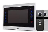 Комплект HD домофона ATIS AD-740M S-Black - память, детекция
