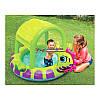 """Детский надувной бассейн """"Морской Конек"""" Intex 57110  с тентом, размер 188х147х104 см, фото 4"""