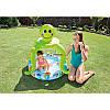 Детский надувной бассейн «Осьминог» Intex 57115 с козырьком диаметр 102 х 104 см, фото 2