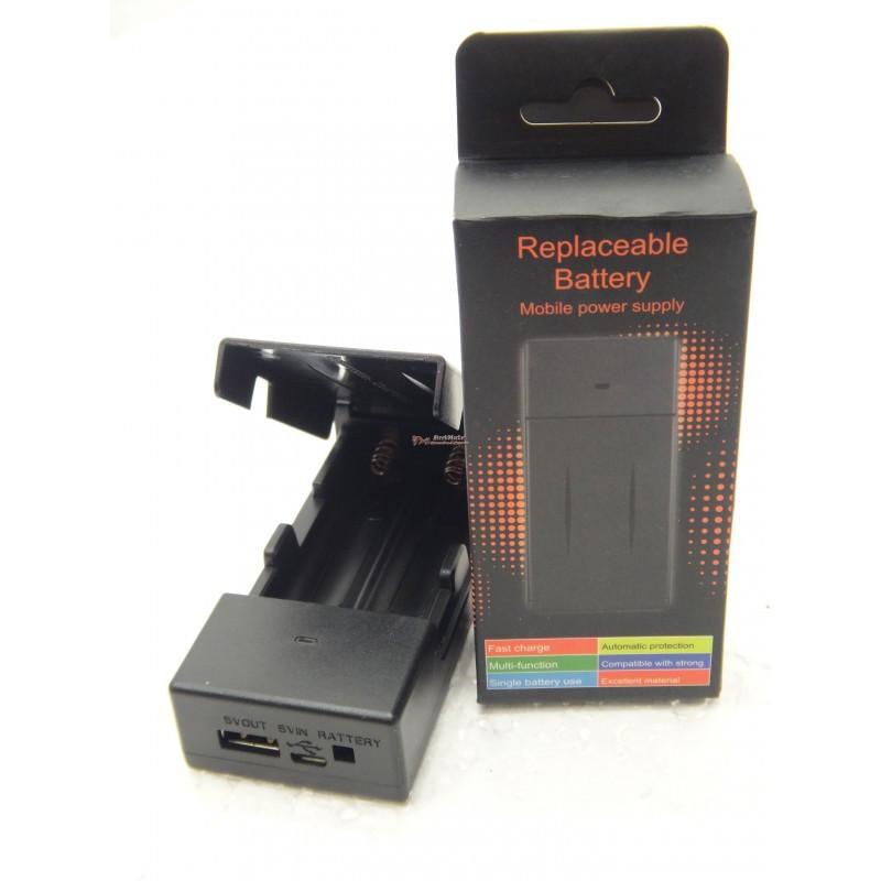 Зарядное устройство и PowerBank 2x18650 BC-10