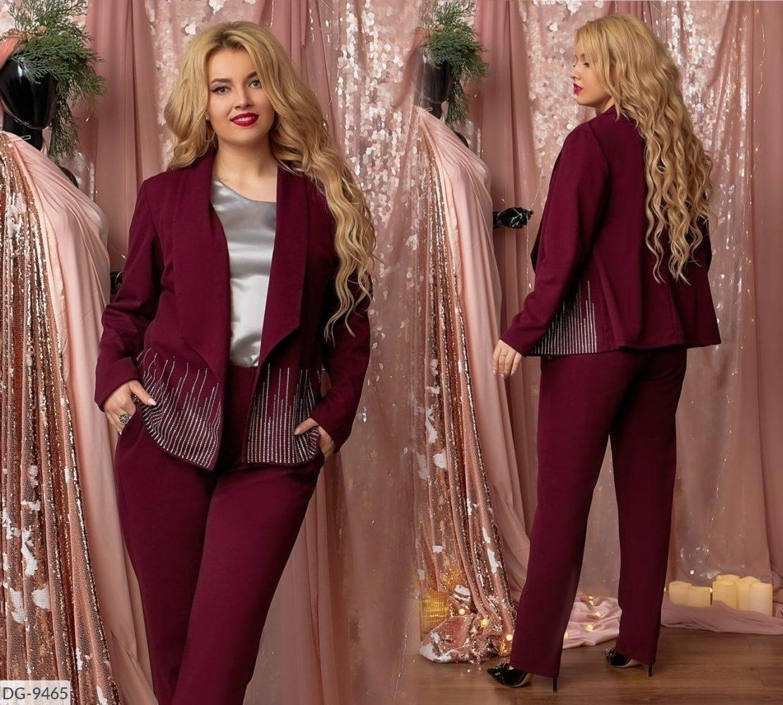 Стильный костюм   (размеры 48-58) 0227-64