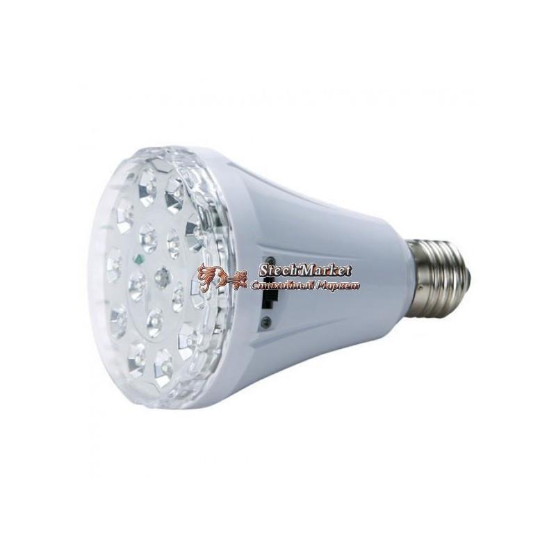 Светодиодная лампа-фонарь с аккумулятором Yajia YJ-1895