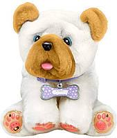 Интерактивный щенок Wrinkles / Люблю целоваться Литл Лайф Петс