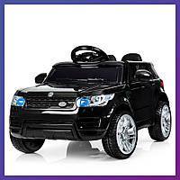 Детский электромобиль Range Rover с пультом Bambi M 3402 EBLR-2 черный | Дитячий електромобіль Бембі чорний