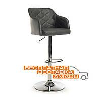 Барный стул хокер В-95 графит (92-112)*52*51*(62-83) Vetro